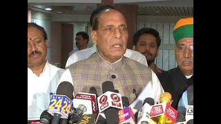 PM to set up panel to look into simultaneous polls: Rajnath Singh after all-party meet thumbnail