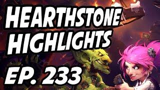 Hearthstone Daily Highlights | Ep. 233 | PlayHearthstone, 따효니, dreadsss, Tylerootd, FeregTV, ZeddyHS