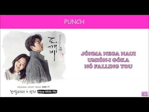 OST PART 1- Chanyeol & Punch {STAY WITH ME} (Legenda Simplificada)