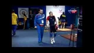 Женщины 69 кг Толчок ЧМ-2013