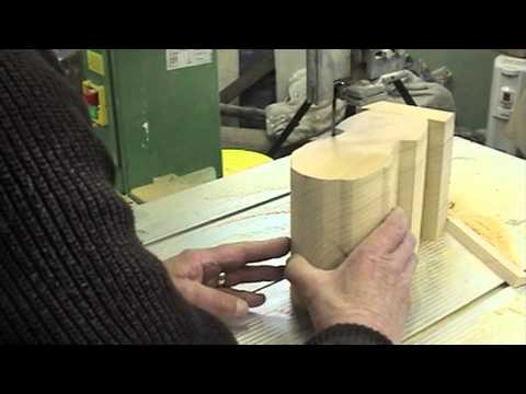 Bandsawing Wood For Wood Carving Or Sculpture  - Ian Norbury