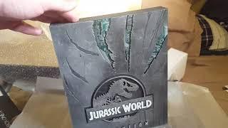 Xbox One X Jurassic World Evolution Edition unboxing