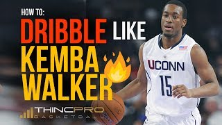 How to: Kemba Walker TOP 4 Basketball DRIBBLING Moves! (Step by Step Basketball Moves)