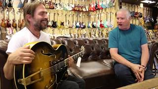 Sergio Vallin from the band Mana playing our 1949 Gibson ES-5