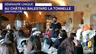Séminaire unique au Château Balestard La Tonnelle (Saint-Emilion)