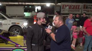 Download lagu Christian Schneider wins on his first night in Super Late Model racing