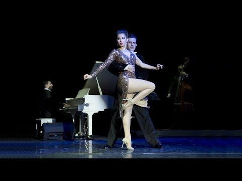 "Tango ""Gallo Ciego"". Fernando Gracia and Sol Cerquides with ""Solo Tango"" orchestra. Танго."