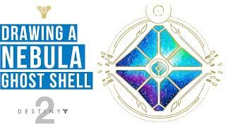 Drawing Nebula Ghost Logo | DESTINY 2