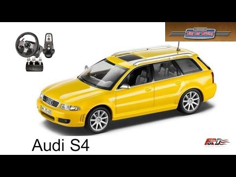 Audi A4 B5 S4 тест-драйв, обзор спортивного автомобиля девяностых в City Car Driving на Logitech G27