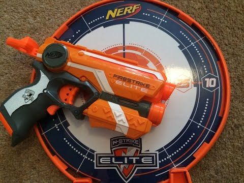 Nerf N-Strike Elite Precision Target Set Unboxing, Review & Range Test
