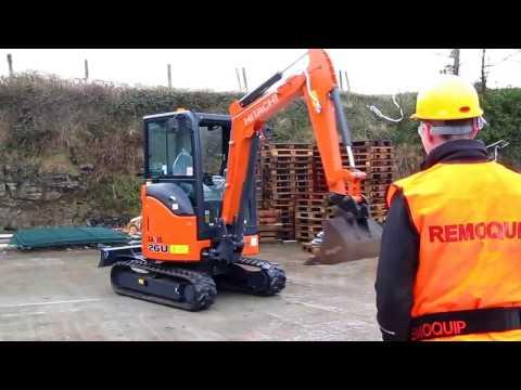 Remote Control Excavator (Remoquip Remote System)