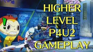 Higher Level P4U2 Gameplay