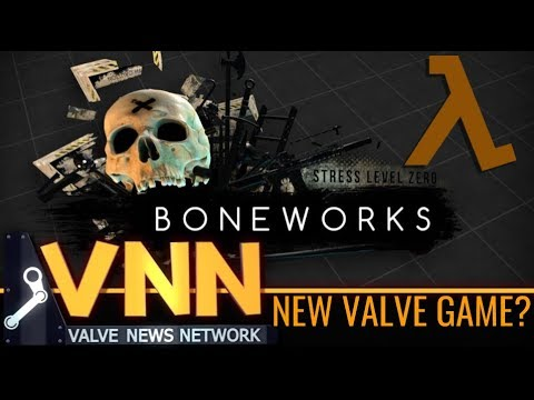 New Valve Half-Life Inspired Game - BONEWORKs & Valve