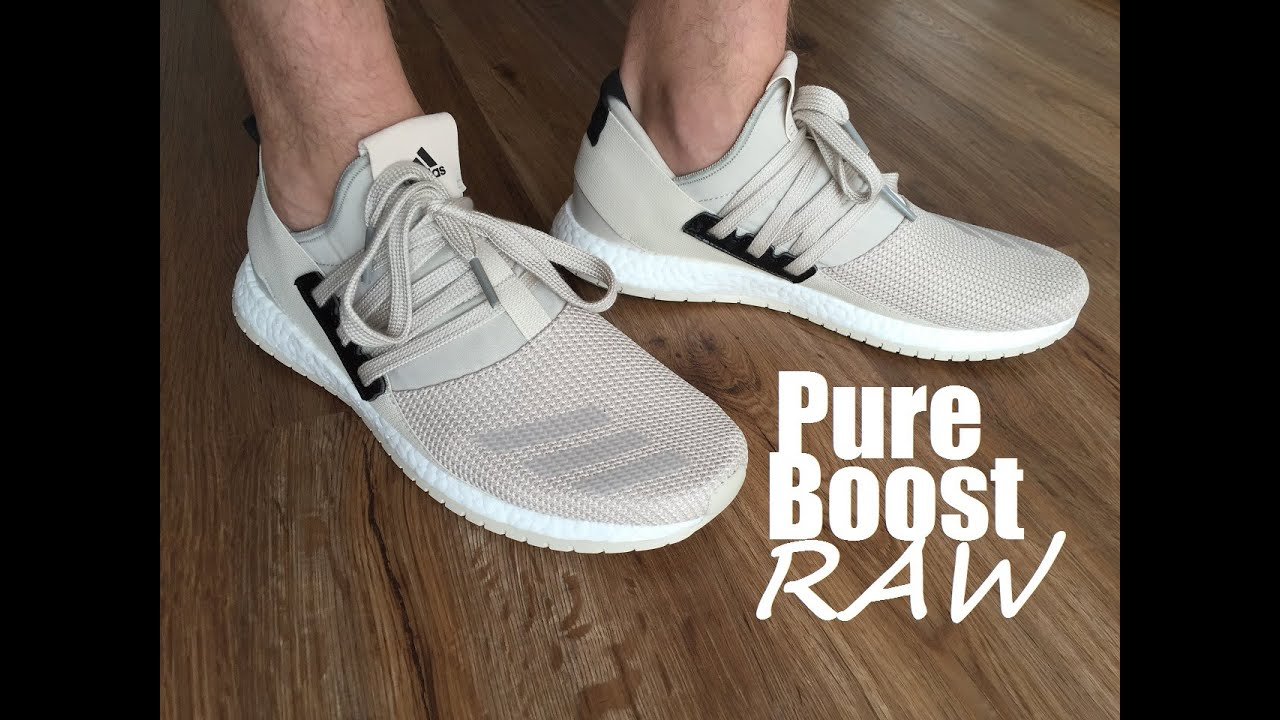 adidas Pure Boost Raw Sneaker Bar Detroit
