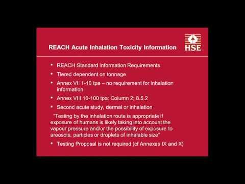 Acute Inhalation Toxicity Webinar 1