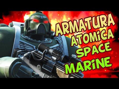 Fallout 4 Gameplay Ita - ARMATURA ATOMICA SPACE MARINE (Mod)