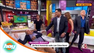 César Bono Le Da Su Merecido A Reynaldo Rossano   Hoy