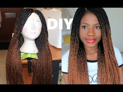 How To Crochet Twists Wig EASY METHOD YouTube