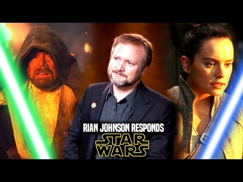 Star Wars! Rian Johnson Responds To Fans Again! & Fixing The Last Jedi