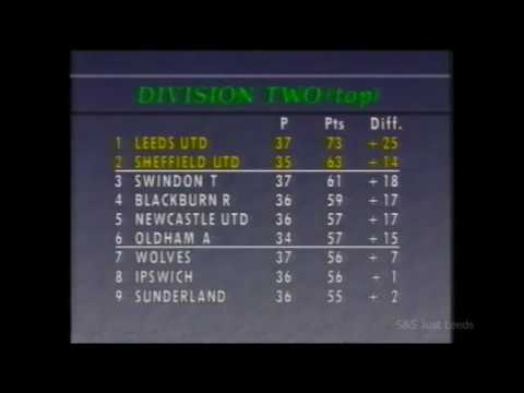 Leeds United Movie Archive Leeds V Portsmouth 1989-90 Goal Footage