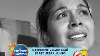 Catherine Velasteguí se recupera del fatal accidente
