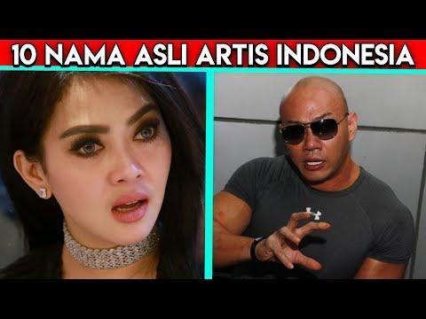 10 Nama Asli Artis Indonesia, Kamu Pasti Gak Akan Nyangka Deh!