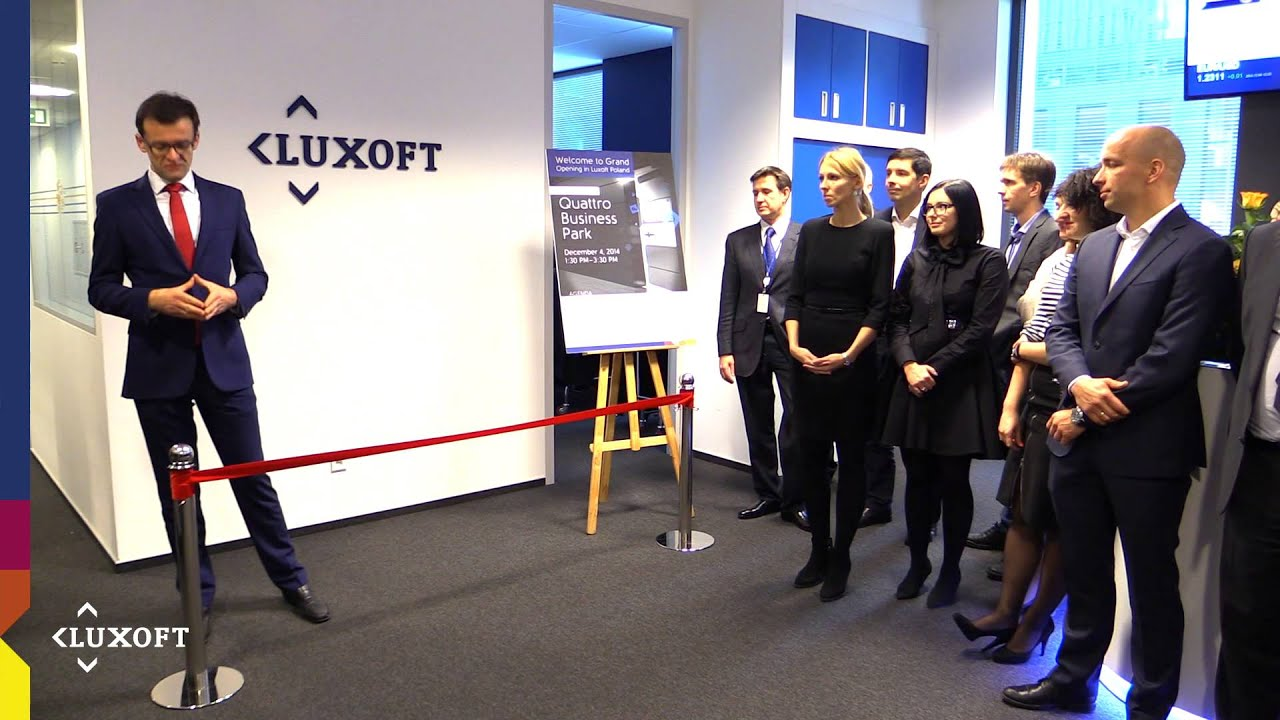 Luxoft Brand New Office in Krakow - YouTube