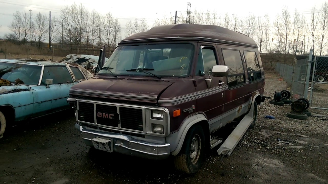 Conversion Van Junkyard
