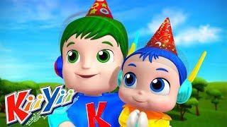 С днем рождения + Еще! | детские песни | KiiYii | мультфильмы для детей