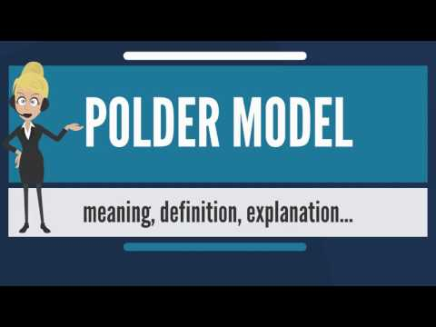 What is POLDER MODEL? What does POLDER MODEL mean? POLDER MODEL meaning, definition & explanation