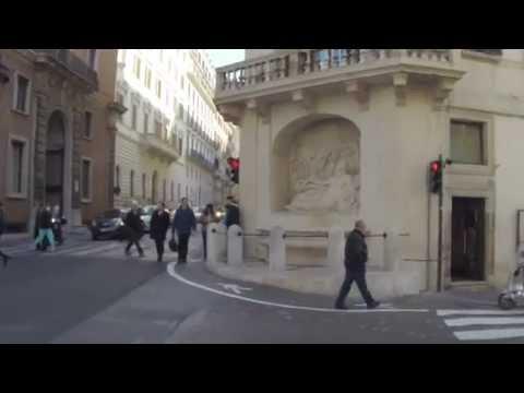 Quattro Fontane at Crossing of Via delle Quattro Fontane and Via del Quirinale in Rome