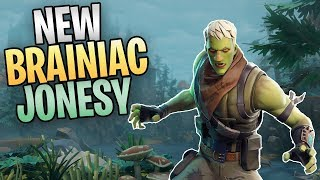 FORTNITE - New Brainiac Jonesy Zombie Hero (All Beta Storm Quest Rewards)
