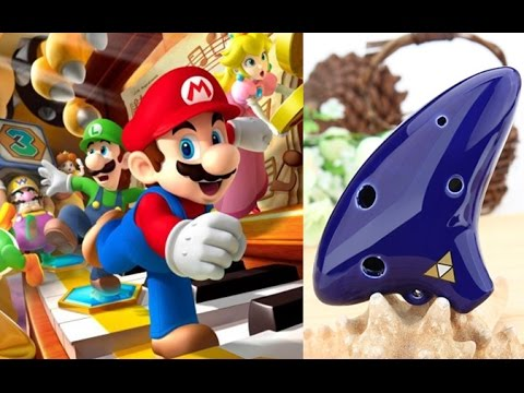 6 Hole Ocarina Tutorial   Super Mario Theme