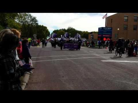 DV band at Dakota Days parade 2015
