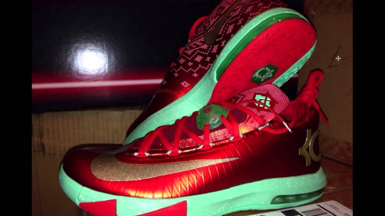 Nike Christmas Shoes 2013 (sb, kobe, lebron, kd) - YouTube