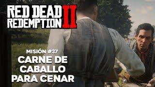 Red Dead Redemption 2 - Misión #37 - Carne de Caballo Para Cenar