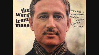 Watch Mose Allison One Of These Days video