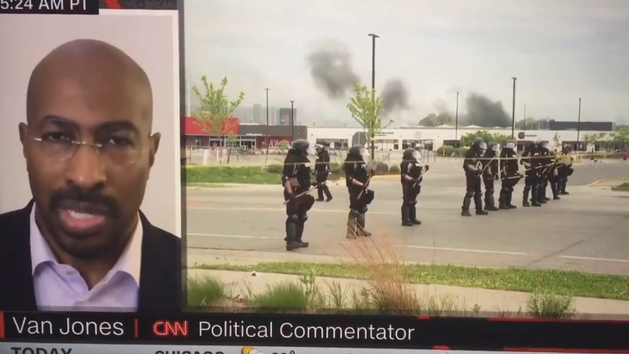 CNN's Van Jones says 'white, liberals' are more worrisome than the ...
