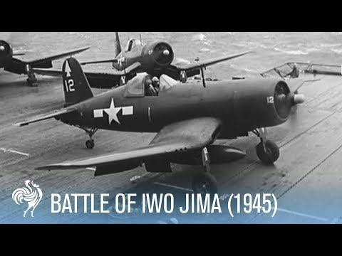 Battle of Iwo Jima - Fierce Fighting Footage [Full Resolution]