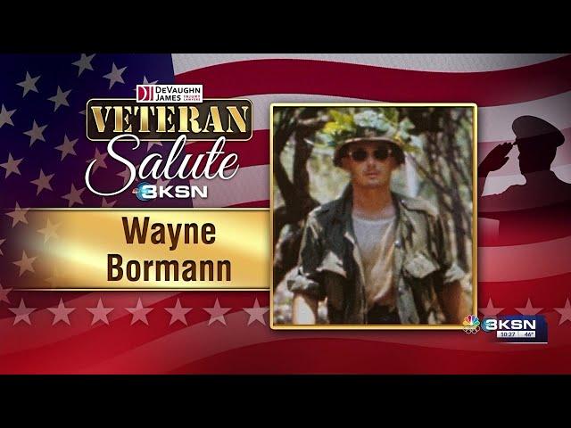 Veteran Salute: Wayne Bormann