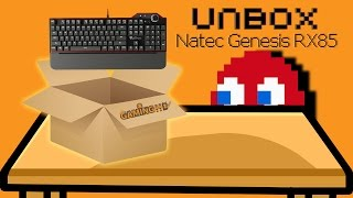 Hardware Unboxing: Natec Genesis RX85 Mechanical Keyboard