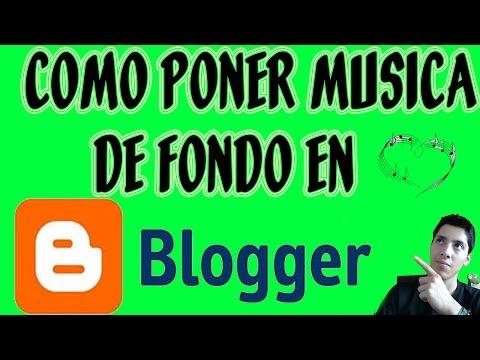 Como Poner Música De Fondo En Blogger Paso A Paso y BIEN EXPLICADO 2017