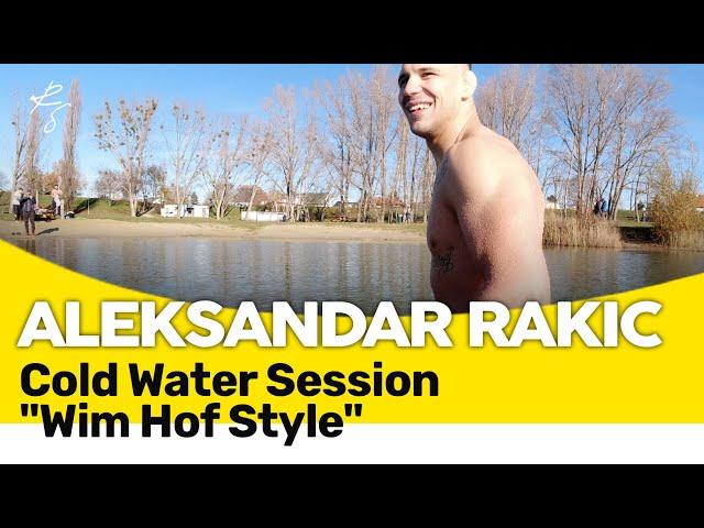 Aleksandar Rakic - 20min 4° cold water therapy -
