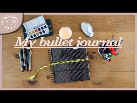Build a creative bullet journal: how to start & setup | Justine Leconte
