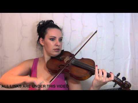 The Romani Gypsy | Violin Tutorial | for complete BEGINNER