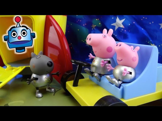 Peppa Pig Cohete Espacial Peppa Pig's Space Explorer Set - Juguetes de Peppa Pig Videos De Viajes