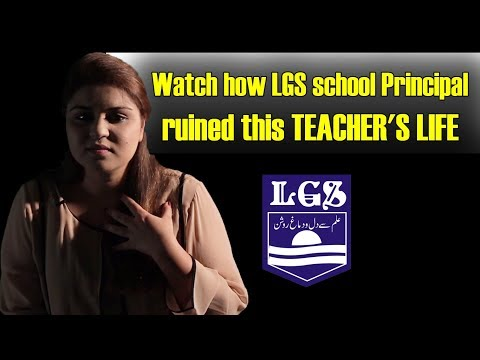 Watch how LGS Paragon school Principal ruined this TEACHER'S LIFE