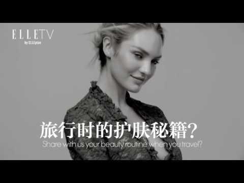 ELLEplus Interview with Candice Swanepoel