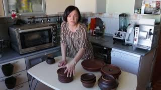 Глиняная посуда. Красная глина . Славянск.