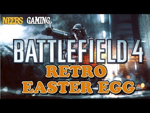 Battlefield 4 Retro Easter Egg  